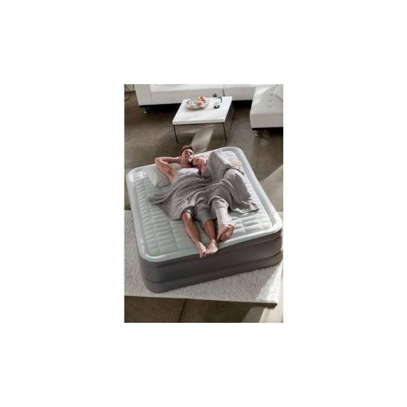 INTEX PremAire II felfújható luxus vendégágy, 152 x 203 x 46cm (64926)