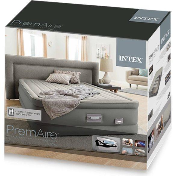 INTEX PremAire II felfújható vendégágy, 152 x 203 x 46cm (64926)