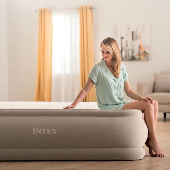 INTEX PremAire Thermalux felfújható vendégágy, 152 x 203 x 51cm (64936)