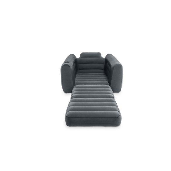 INTEX Pull-Out felfújható, átalakítható fotel ágy, 107 x 221 x 66cm (66551)