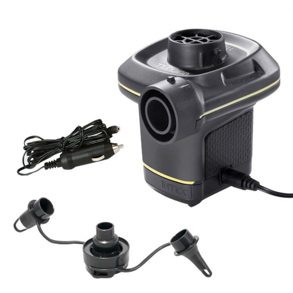 INTEX Quick-Fill AC/DC (autós-hálózati) elektromos pumpa (2019-es modell) (66634)