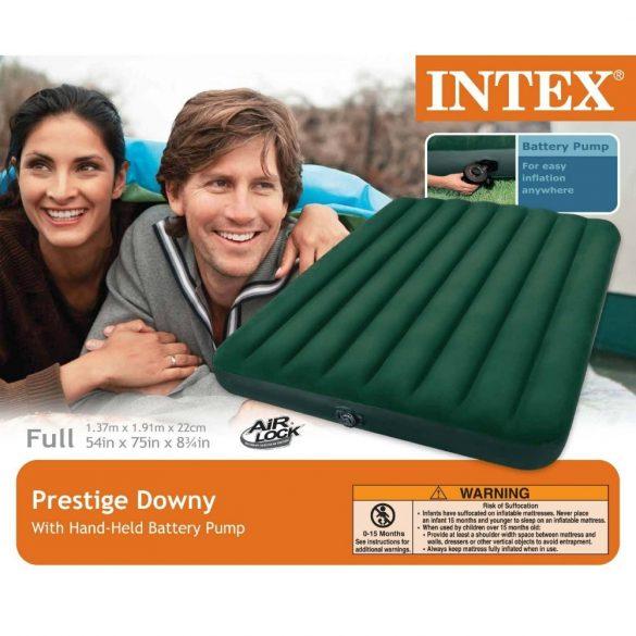 INTEX Prestige Downy felfújható matrac, 137 x 191 x 22cm (66968)