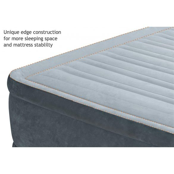 INTEX Comfort Plush felfújható vendégágy, 152 x 203 x 33cm (67770)