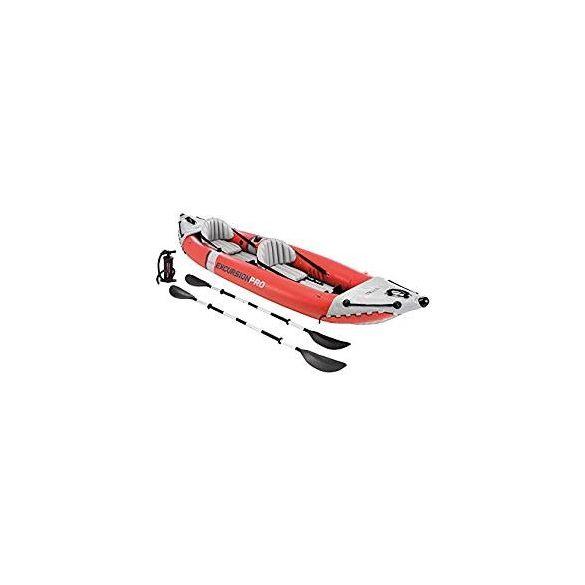 INTEX Excursion Pro felfújható gumicsónak szett (2 személyes) 384 x 94 x 46cm (68309)
