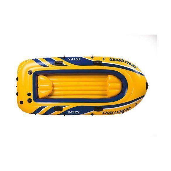 INTEX Challenger 3 felfújható gumicsónak szett (3 személyes) 295 x 137 x 43cm (68370)