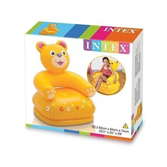 INTEX felfújható gyermekfotel mackó (68556)