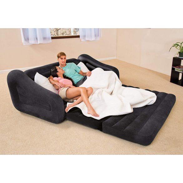 INTEX Pull-Out felfújható, átalakítható kanapé ágy, 193 x 221 x 66cm (68566)
