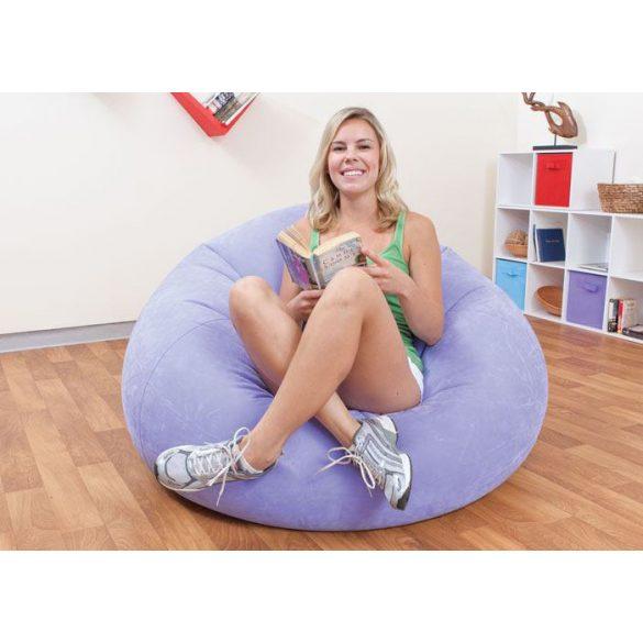 INTEX Beanless felfújható fotel, lila, 107 x 104 x 69cm (68569)