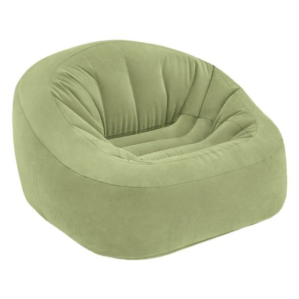 INTEX Beanless felfújható fotel, zöld, 124 x 119 x 76cm (68576)