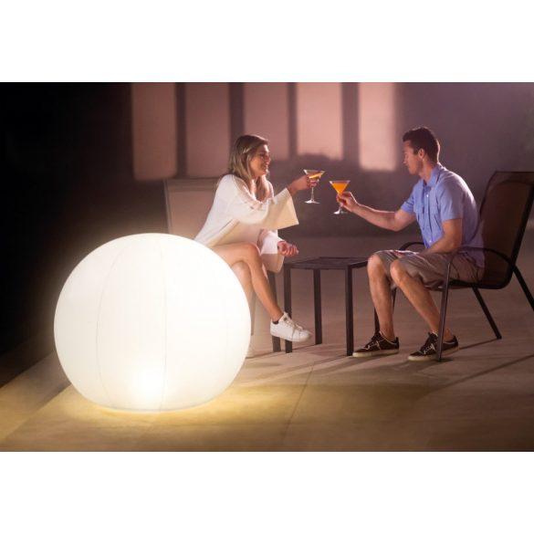 INTEX vízen úszó LED medence világítás, gömb alakú (68695)