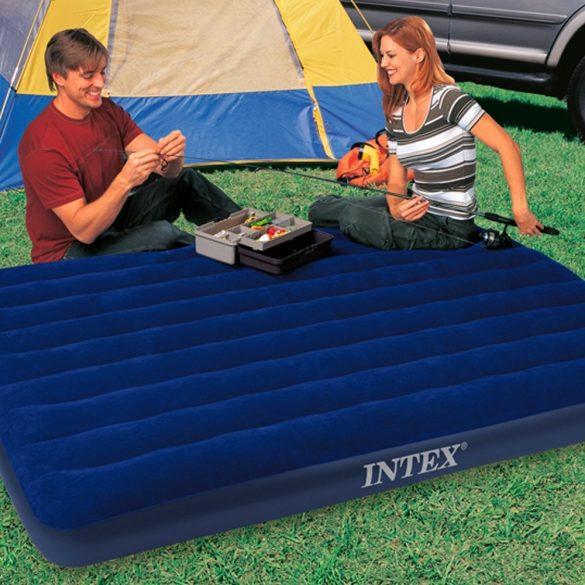 INTEX Classic Downy felfújható matrac, 152 x 203 x 22cm (68759)